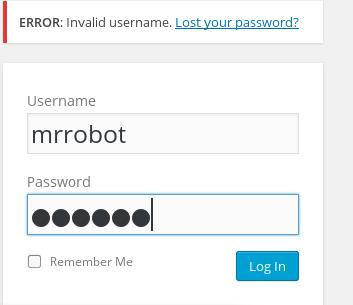 Mr-Robot 1 Walkthrough - AUCC